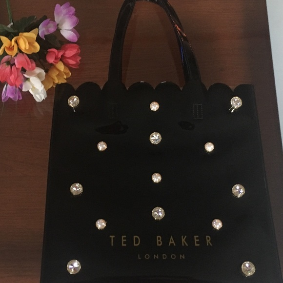Ted Baker Handbags - Ted Baker Tote patent leather